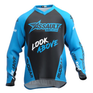 assault-mudwar-type3-azul-enduro-dh-mx-camiseta-front