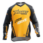 camiseta-assault-mudwar-amarillo-enduro-dh-mx-front