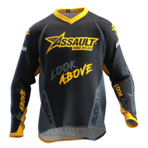 camiseta-assault-mudwar-amarillo-enduro-dh-mx-type-1-front