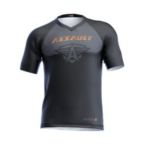 CAMISETA-CORTA-ENDURO-ASSAULT-GLOCKR-BLACK-1