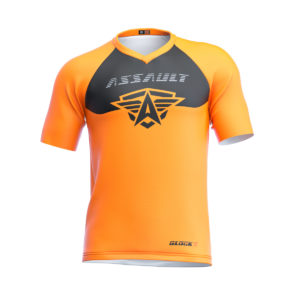 CAMISETA-CORTA-ENDURO-ASSAULT-GLOCKR-MANGO-1