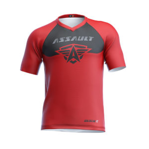 CAMISETA-CORTA-ENDURO-ASSAULT-GLOCKR-RED-METAL-1